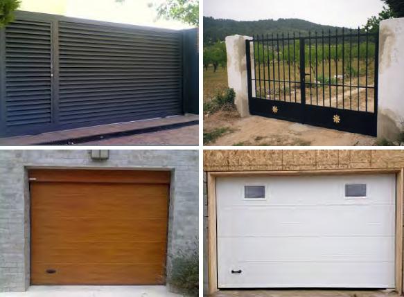 Puertas de garaje - Sistemas Claver