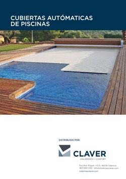 Cubiertas autom ticas de piscinas sistemas claver for Mantenimiento de piscinas pdf