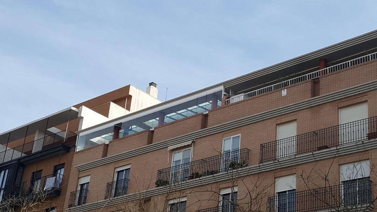 Cerramiento de terraza sistemas claver - Cerramientos de terraza ...